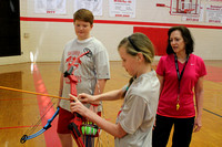 Archery at Our Lady of the Holy Souls School